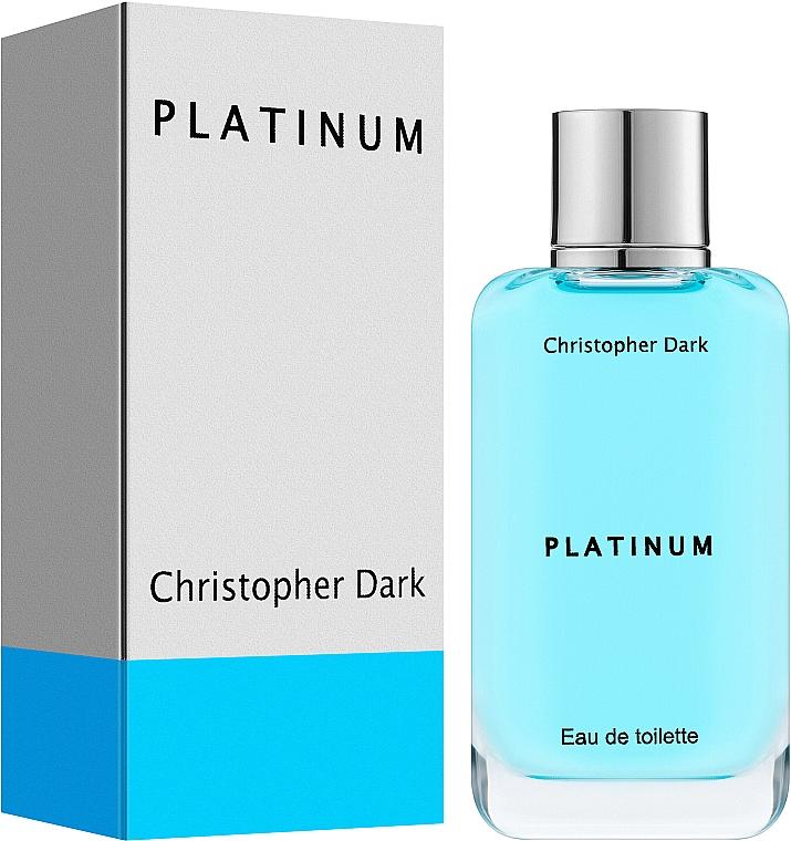 Christopher Dark Platinum - Woda toaletowa