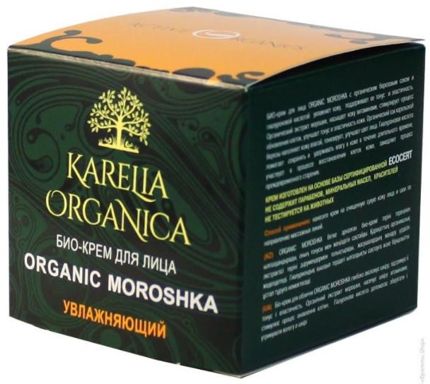 Bio-krem do twarzy Nawilżający - Fratti HB Karelia Organica Organic Moroshka — фото N1