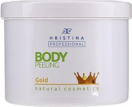 Kup Peeling do ciała ze złotem - Hristina Professional Gold Body Peeling