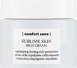 Odżywczy krem ujędrniający do twarzy - Comfort Zone Sublime Skin Rich Cream — фото N2