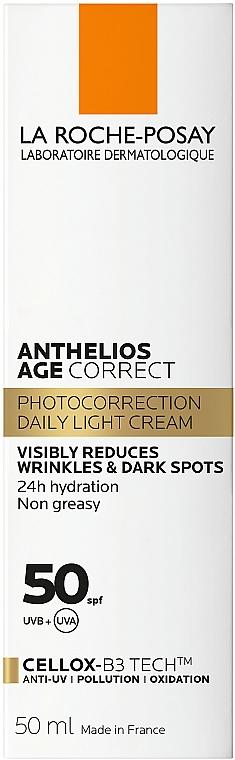 Codzienna fotoprotekcja przeciwstarzeniowa SPF 50+ - La Roche-Posay Anthelios Age Correct SPF50+ — фото N4