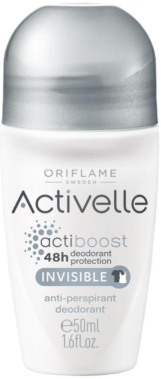 Dezodorant antyperspiracyjny - Oriflame Activelle Actiboost Invisible — фото N1