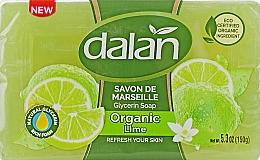 Kup Glicerynowe mydło Limonka - Dalan Savon De Marseille Glycerine Soap Organic Lime