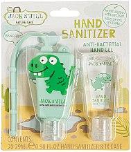 Kup Zestaw do dezynfekcji rąk Dinozaur - Jack N' Jill Hand Sanitizer Dino (2 x hand/gel 29 ml + case)