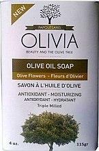 Kup Mydło z oliwek w kostce Kwiaty oliwki - Olivia Beauty & The Olive Tree Olive Oil Soap Olive Flowers