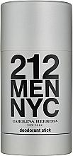 Kup Carolina Herrera 212 Men NYC - Perfumowany dezodorant w sztyfcie
