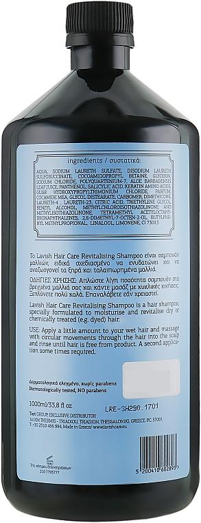 Rewitalizujący szampon do włosów dla mężczyzn - Lavish Care Revitalizing Shampoo — фото N4