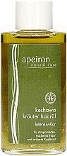 Kup Ziołowy olejek do włosów - Apeiron Keshawa Herbal Hair Oil