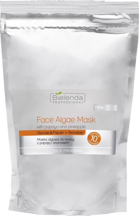 Maska algowa do twarzy z papają i ananasem - Bielenda Professional Algae Face Mask With Papaya And Pineapple — фото N1