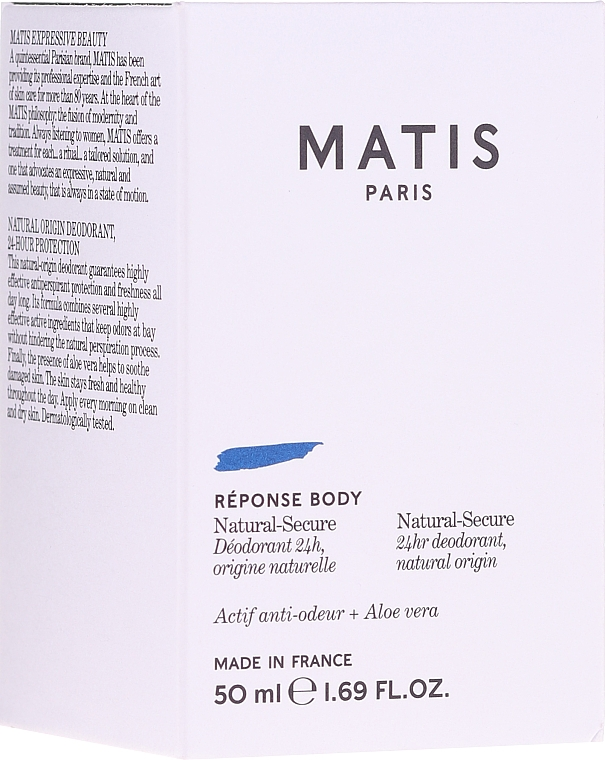 Naturalny dezodorant - Matis Reponse Body Deodorant — фото N1