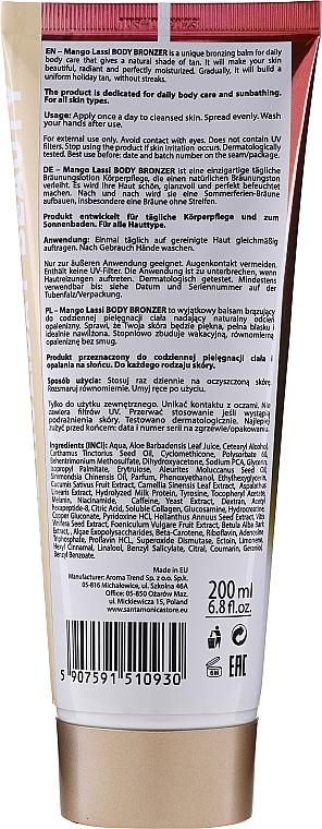 Brązujący balsam do ciała Mango Lassi - Santa Monica Skincare Mango Lassi Body Bronzer — фото N2