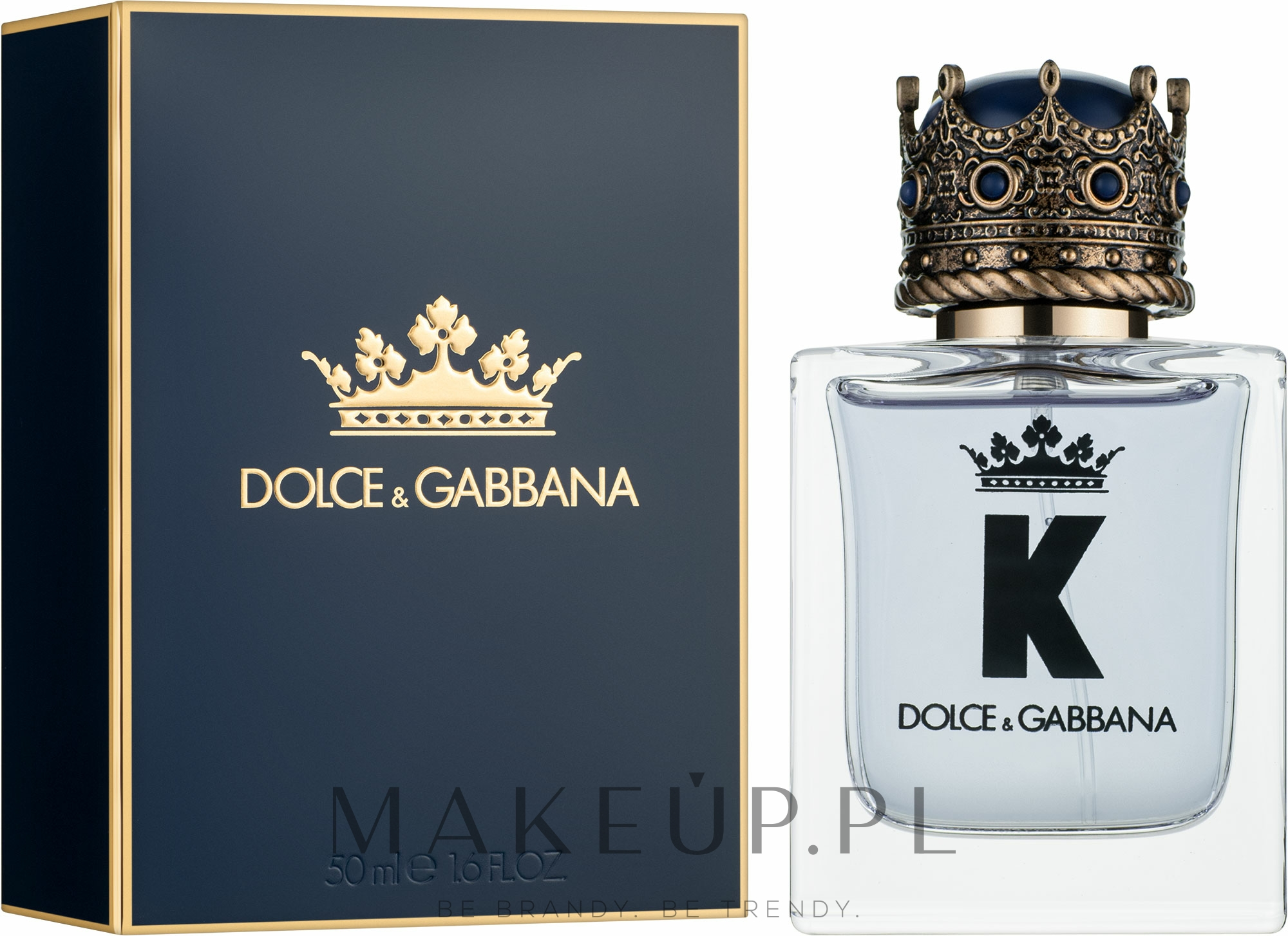Dolce & Gabbana K by Dolce & Gabbana - Woda toaletowa — фото 50 ml