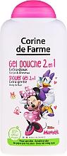Kup Żel pod prysznic 2 w 1 do ciała i włosów dla dzieci Myszka Minnie - Corine de Farme Disney Minnie Mouse Shower Gel Body & Hair
