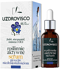 Kup Aktywne roślinne serum do twarzy przeciw niedoskonałościom - Uzdrovisco