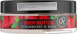 Nawilżające masło do ciała Truskawka i bazylia - Cosmepick Body Butter Strawberry & Basil — фото N2