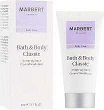 Kup Antyperspirant w kremie - Marbert Bath & Body Classic Anti-Perspirant Cream Deodorant