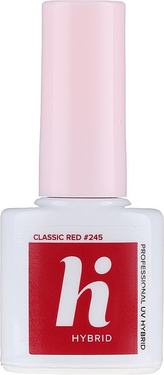 Zestaw startowy do manicure (n/base 5 ml + n/top 5 ml + n/polish 5 ml + n/cl 50 ml + lamp + baff + n/file 1 pc)  - Hi Hybrid — фото N7