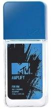 Kup MTV Perfumes MTV Amplify - Perfumowany dezodorant z atomizerem