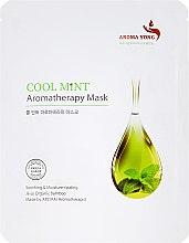 Kup Maska na tkaninie do twarzy Mięta - Aroma Yong Aromatherapy Mask Cool Mint