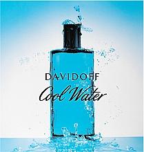 Zestaw dla mężczyzn - Davidoff Cool Water (edt 125 ml + sh/gel 75 ml + ash/balm 75 ml) — фото N1