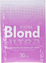 Kup Niebieski puder rozjaśniający włosy - Estel Only Ultra Blond