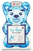 Kup Maseczka w płachcie do twarzy z kwasem hialuronowym - SNP Ice Bear Hyaluronic Mask