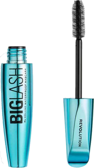 Wodoodporny tusz do rzęs - Makeup Revolution Big Lash Waterproof Volume Mascara — фото N1