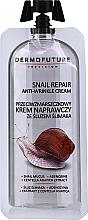 Kup Przeciwzmarszczkowy krem naprawczy ze śluzem ślimaka - Dermofuture Snail Repair Anti-Wrinkle Cream
