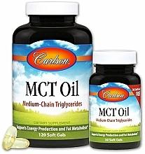 Kup Zestaw - Carlson Labs MCT Oil (gel/120szt + gel/30szt)