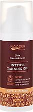 Kup PRZECENA! Intensywny olejek do opalania do twarzy i ciała - Wooden Spoon Intense Tanning Oil *