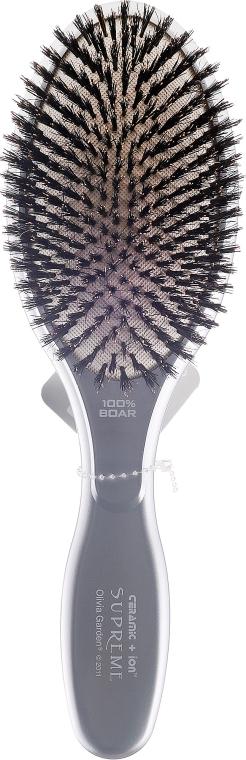Szczotka do włosów - Olivia Garden Supreme Ceramic+ion Boar