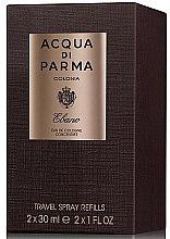 Acqua di Parma Colonia Ebano Travel Spray Refills - Zestaw (2 x edc/refill 30 ml) — фото N1
