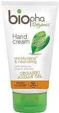 Kup Nawilżający krem odżywczy do rąk z olejem arganowym - Biopha Organic Argan Oil Hand Cream