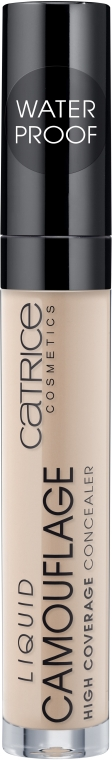 Płynny korektor do twarzy - Catrice Liquid Camouflage High Coverage Concealer