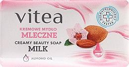 Kup Kremowe mydło mleczne z olejem migdałowym - Vitea Cream Soap