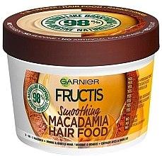 Kup Wygładzająca maska do suchych włosów - Garnier Fructis Macadamia Hair Food Smoothing Mask