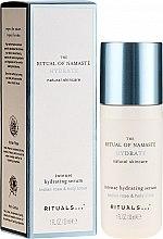 Kup Intensywnie nawilżające serum do twarzy Indyjska róża i lotos - Rituals The Ritual Of Namaste Intense Hydrating Serum