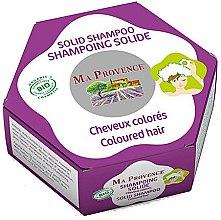 Kup Organiczny szampon w kostce do włosów farbowanych - Ma Provence Solid Shampoo