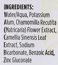 Mineralny dezodorant w sprayu do ciała Rumianek i zielona herbata - Crystal Essence Deodorant Spray — фото N3