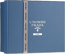 Kup Prada L'Homme Prada L'Eau - Zestaw (edt 100 ml +edt 10 ml + sh/gel 100 ml)