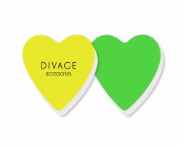 Kup Zestaw polerek buffer, 2 szt. zielona + żółta - Divage Dolly Collection