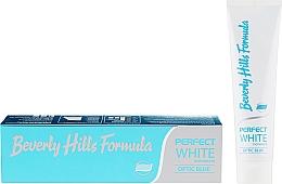 Kup Pasta do zębów - Beverly Hills Formula Perfect White Optic Blue