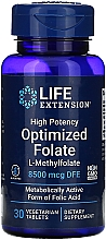 Kup Kwas foliowy w tabletkach - Life Extensions Optimized Folate
