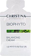 Kup PRZECENA! Normalizujący krem do twarzy - Christina Bio Phyto Balancing Cream (saszetka) *