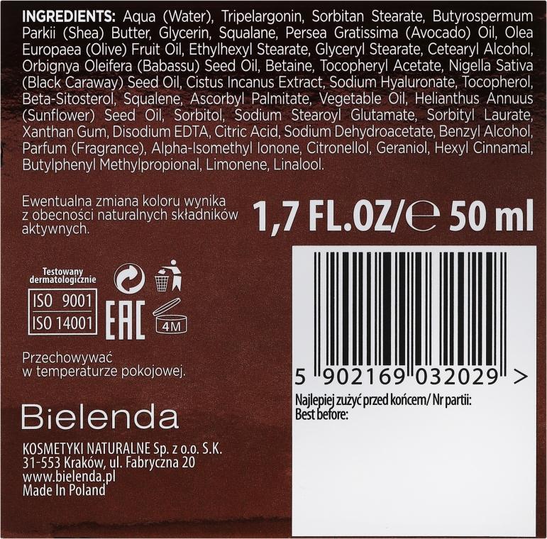 Krem przeciwzmarszczkowy na dzień i noc Olej z czarnuszki + czystek - Bielenda Botanic Formula — фото N3