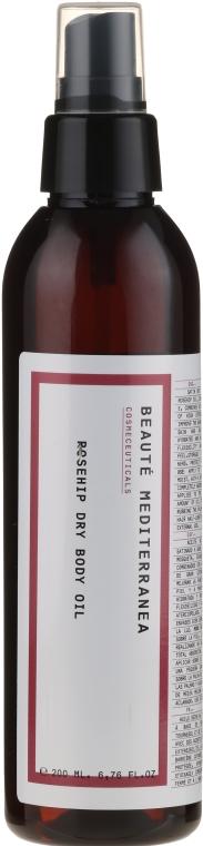 Suchy olejek do ciała Dzika róża - Beaute Mediterranea Rosehip Dry Body Oil — фото N1