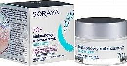 Kup Krem do twarzy na dzień i na noc wypełniający zmarszczki i bruzdy Hialuronowy mikrozastrzyk 70+ - Soraya Duo Forte