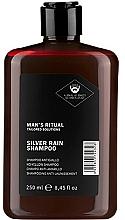 Kup Szampon do włosów jasnych i brody niwelujący żółte odcienie - Dear Beard Man`s Ritual Silver Rain Shampoo