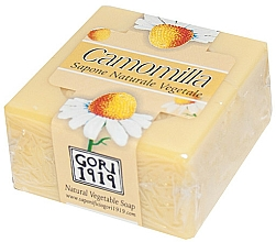 Kup Mydło w kostce Rumianek - Gori 1919 Chamomile Natural Vegetable Soap