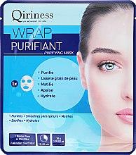 Kup Oczyszczająca maska na tkaninie do twarzy - Qiriness Wrap Purifiant Purifying Microfiber Mask